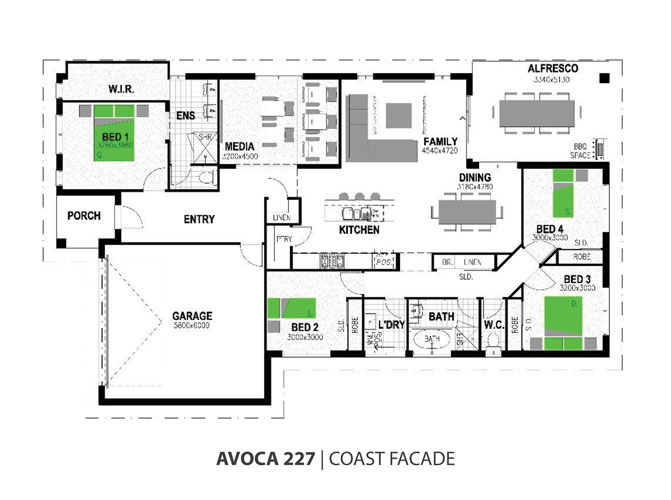 avoca floorplan