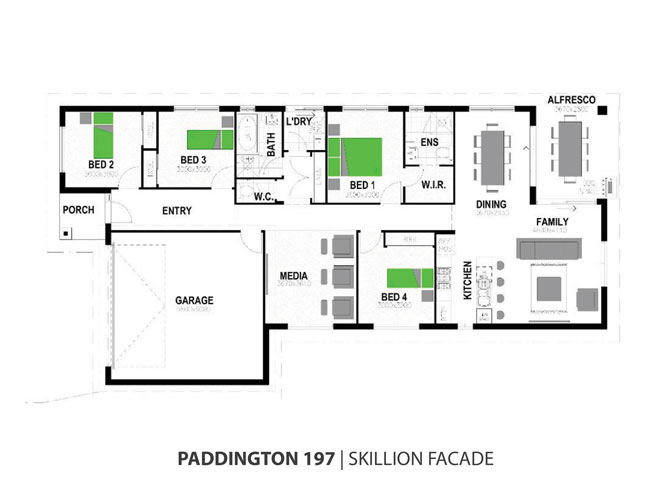 paddington floorplan