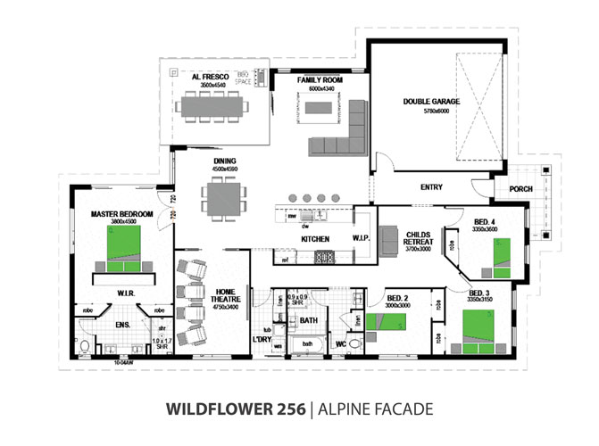 wildflower floorplan